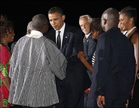 Barack Obama in Ghana