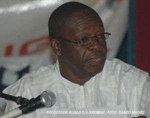 Alhaji G. V. Kromah, former leader of ULIMO-K